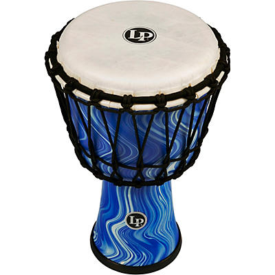 LP World Rope-Tuned Circle Djembe, 7 in.