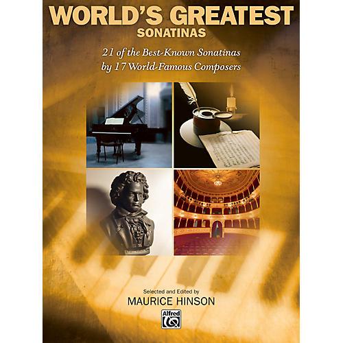 Alfred World's Greatest Piano Sonatinas