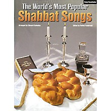 Tara Publications World's Most Popular Shabbat Songs Piano, Vocal, Guitar Songbook
