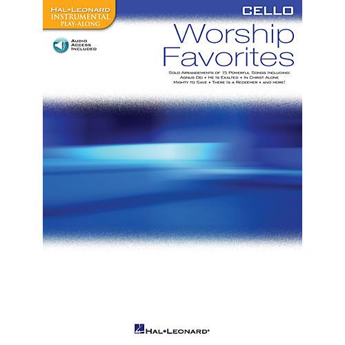 Hal Leonard Worship Favorites (Instrumental Play-Along for Cello) Instrumental Play-Along Series Softcover with CD