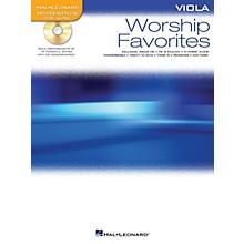 Hal Leonard Worship Favorites (Instrumental Play-Along for Viola) Instrumental Play-Along Series Softcover with CD