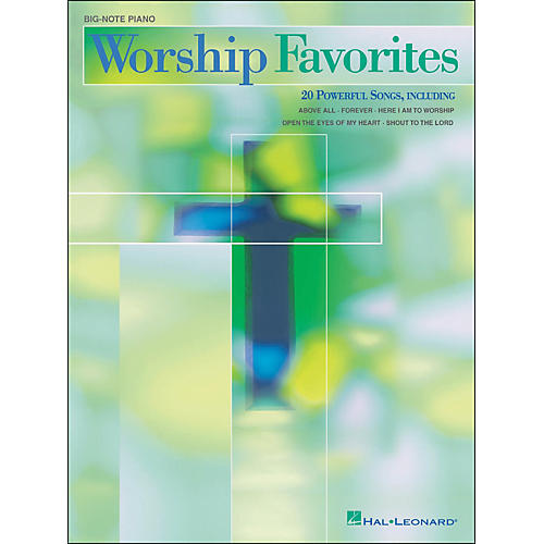 Hal Leonard Worship Favorites for Big Note Piano