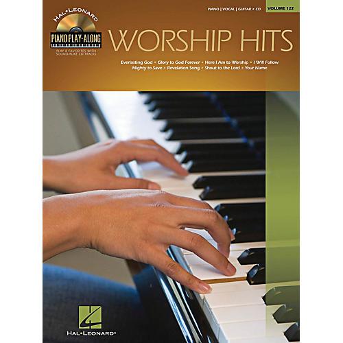 Hal Leonard Worship Hits - Piano Play-Along Series Volume 122 Book/CD