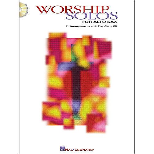 Hal Leonard Worship Solos for Alto Sax Book/CD
