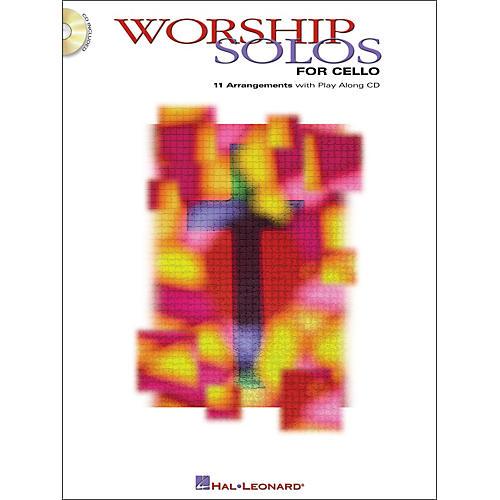 Hal Leonard Worship Solos for Cello Book/CD