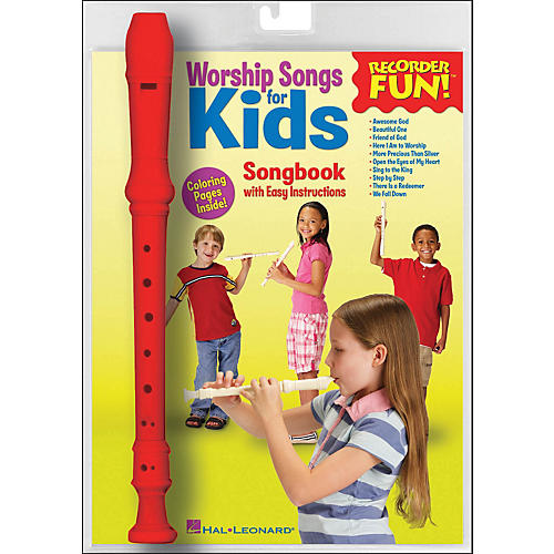 Hal Leonard Worship Songs for Kids Recorder Fun! Pack
