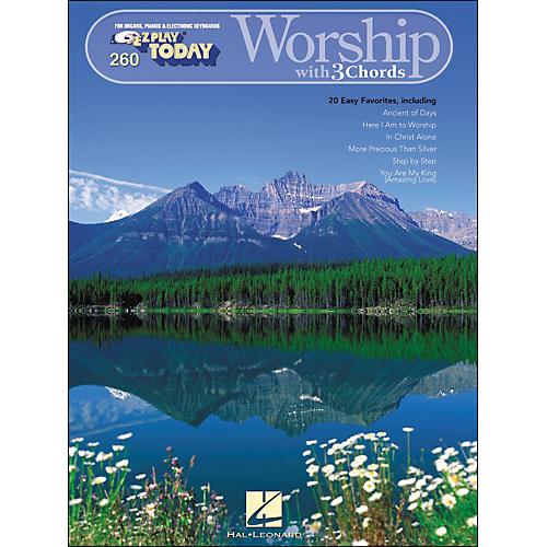 Hal Leonard Worship with 3 Chords E-Z play 260