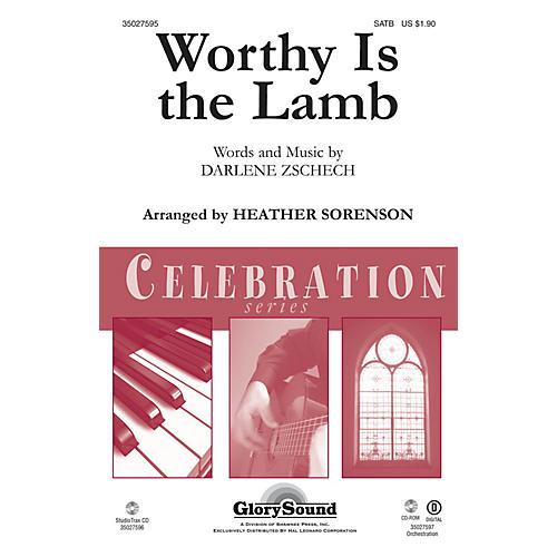 Shawnee Press Worthy Is the Lamb Studiotrax CD Arranged by Heather Sorenson