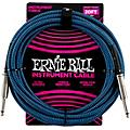 "Ernie Ball Woven Straight/Straight Nickel-Plated 1/4"" Instrument Cable"