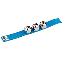 Wrist Bells Strap with 3 Bells Blue 9 in.