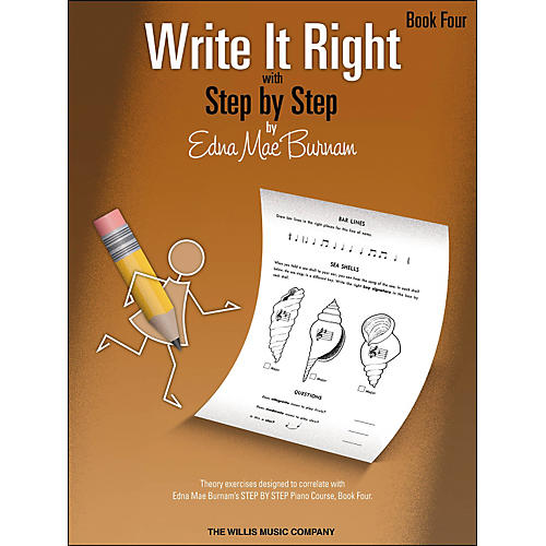 Willis Music Write It Right Book 4