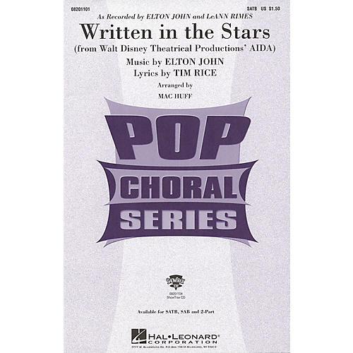 Hal Leonard Written in the Stars ShowTrax CD by Elton John Arranged by Mac Huff