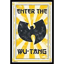Wu-Tang Clan - Enter Poster Framed Black