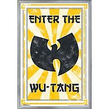 Wu-Tang Clan - Enter Poster Framed Silver