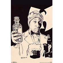 Wu-Tang Clan - Illustrated Poster Premium Unframed