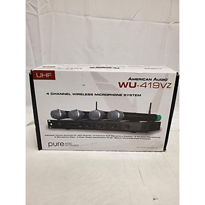 American Audio Wu419V Handheld Wireless System