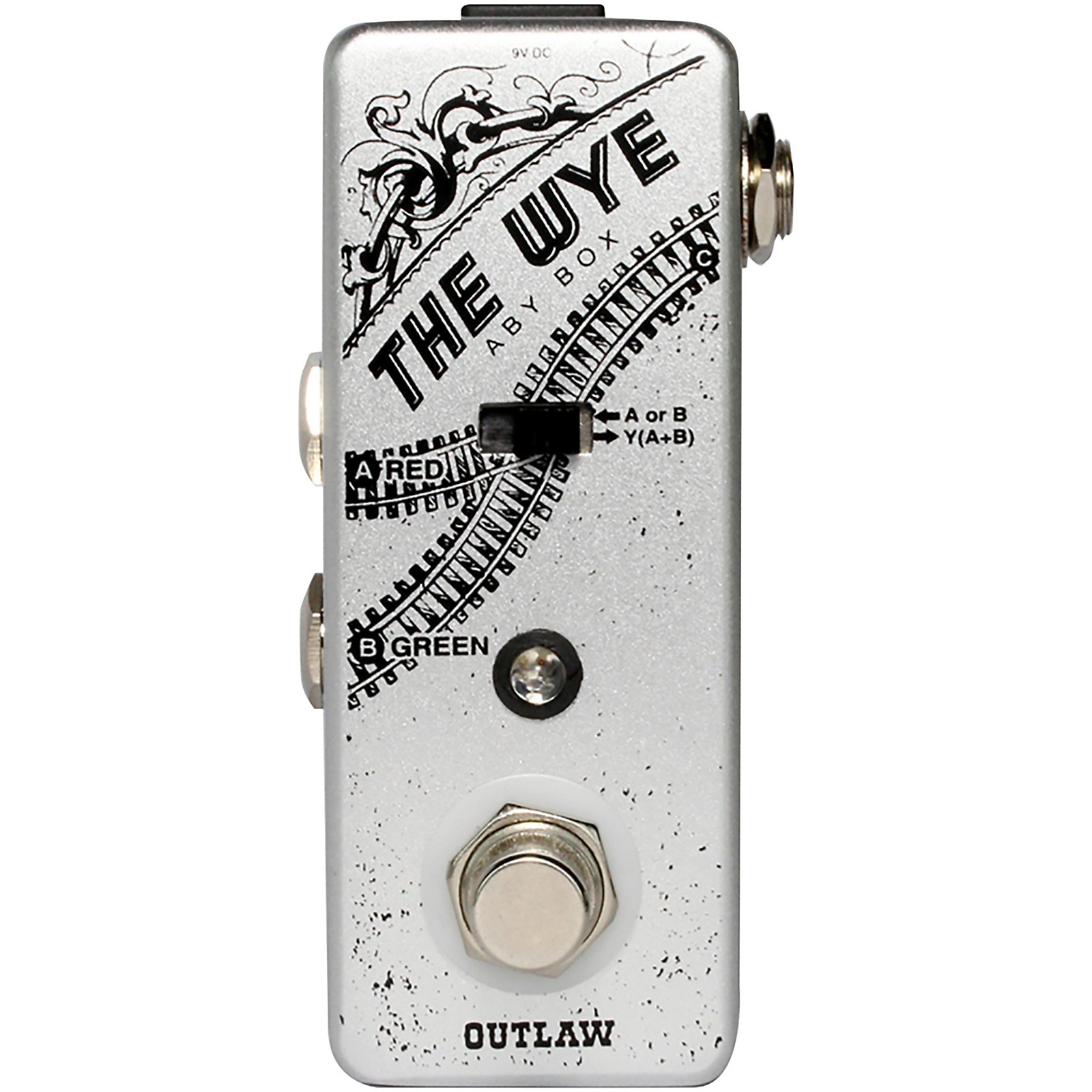 Outlaw Effects Wye ABY Switcher Pedal