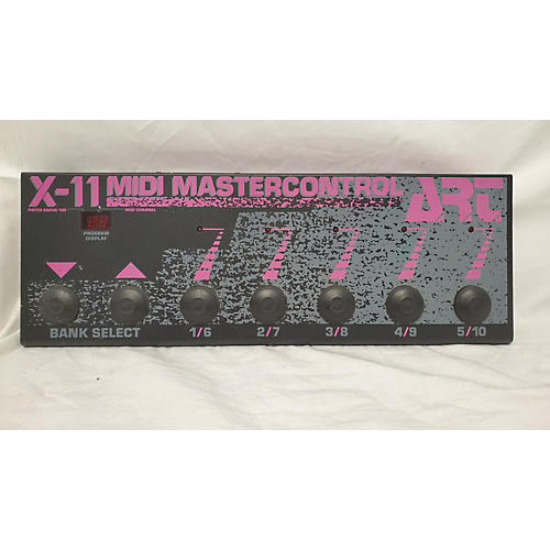 X-11 MIDI MASTERCONTROL MIDI Foot Controller