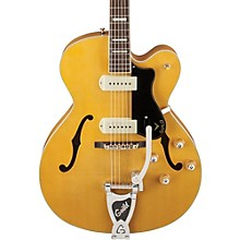 Open BoxGuild X-175B Manhattan Hollowbody Archtop Electric Guitar with Guild Vibrato Tailpiece
