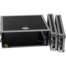 "ProX X-4UE 4U Deluxe Effects Rack 14"" Deep Rail to Rail with Handles"