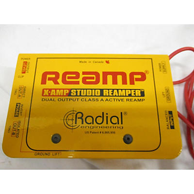 Radial Engineering X-AMP STUDIO REAMPER Signal Processor