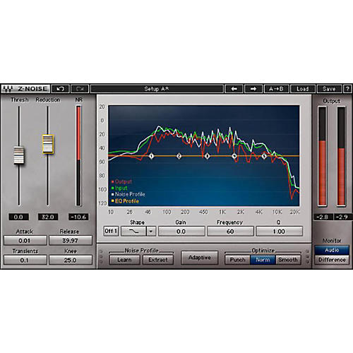 Waves X-Noise Native/TDM/SG Software Download