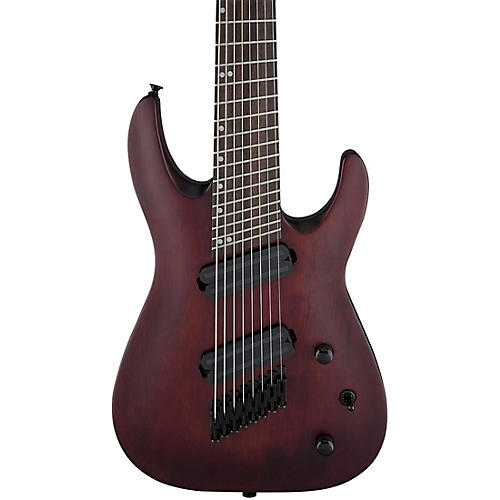 Jackson X Series Dinky Arch Top DKAF8 MS 8-String Multi-Scale Electric Guitar Stained Mahogany