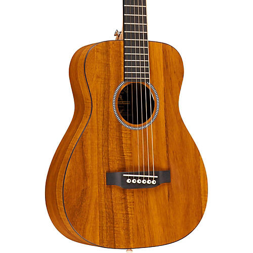 Martin X Series LX Koa Little Martin Left-Handed Acoustic Guitar