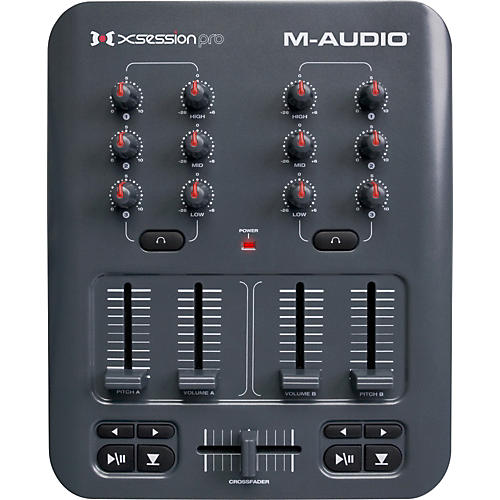 m audio x session pro usb midi dj mixer controller musician 39 s friend. Black Bedroom Furniture Sets. Home Design Ideas