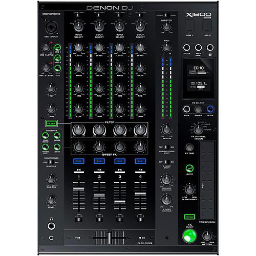 Denon DJ X1800 Prime 4-Channel Club Mixer