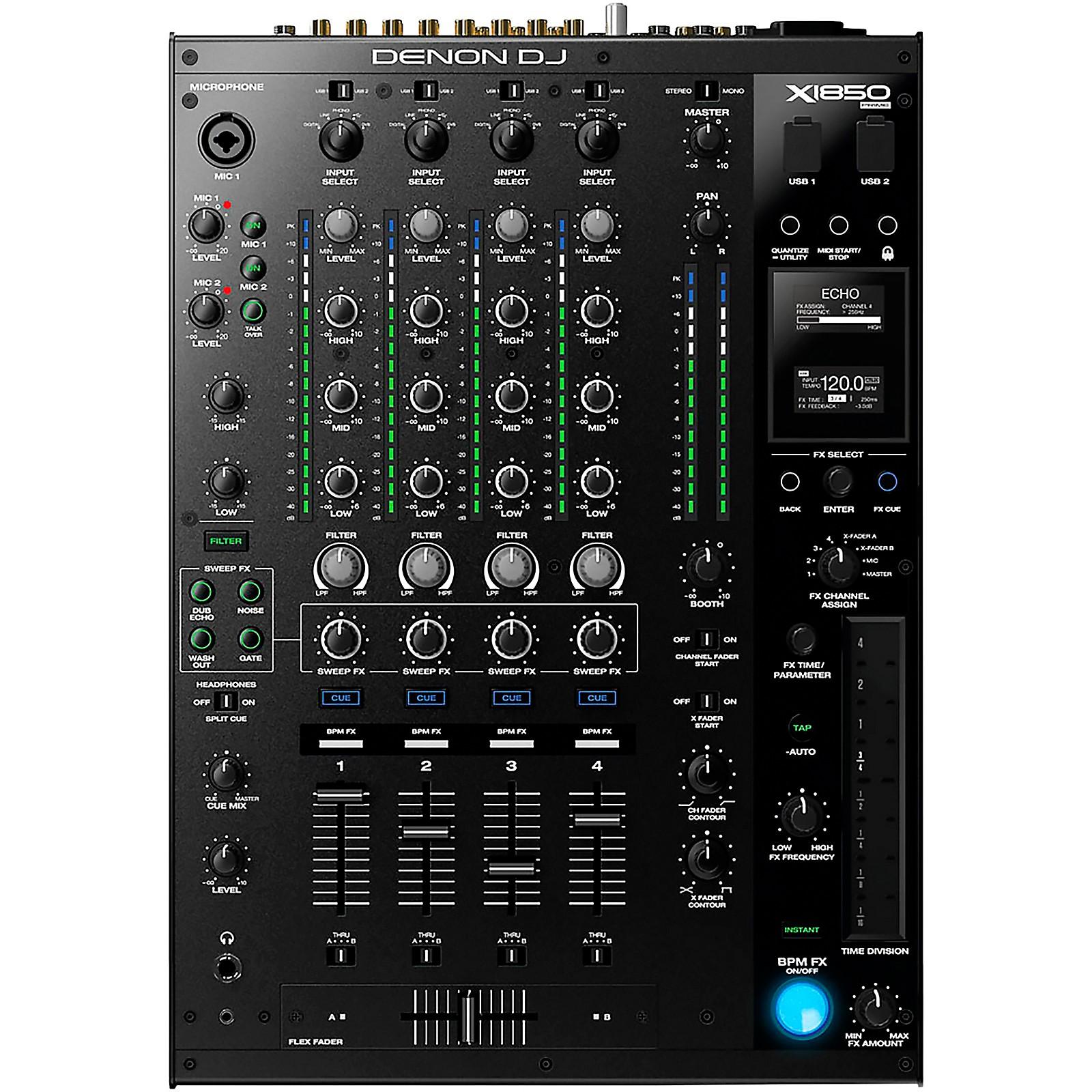 Denon X1850 Prime 4-Channel Club Mixer
