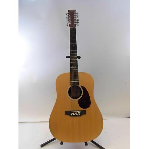 Martin X1D12E 12 String Acoustic Guitar Natural