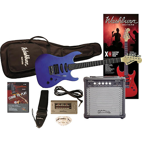 X9 Electric Guitar Pack with Amp