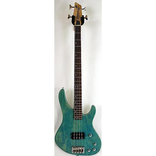 Washburn XB900 Electric Bass Guitar Trans Green