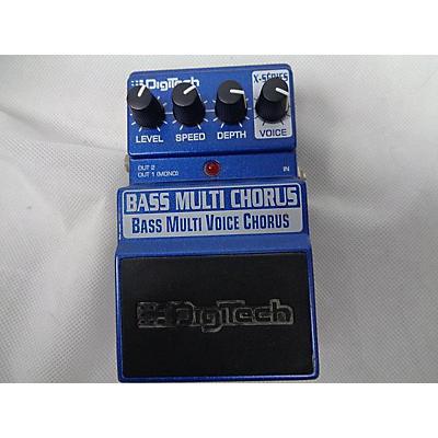 Digitech XBC Bass Multi Chorus Bass Effect Pedal
