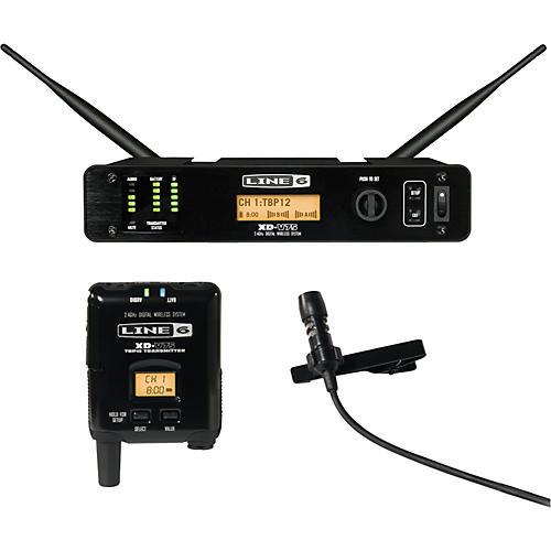 Line 6 XD-V75L Professional Digital Wireless Lavalier System Condition 1 - Mint Black