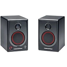 "Open Box Cerwin-Vega XD4 4"" 2-Way Powered Desktop Speakers"