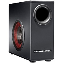 """Cerwin-Vega XD8s 8"""" Powered Subwoofer with Remote Control"""