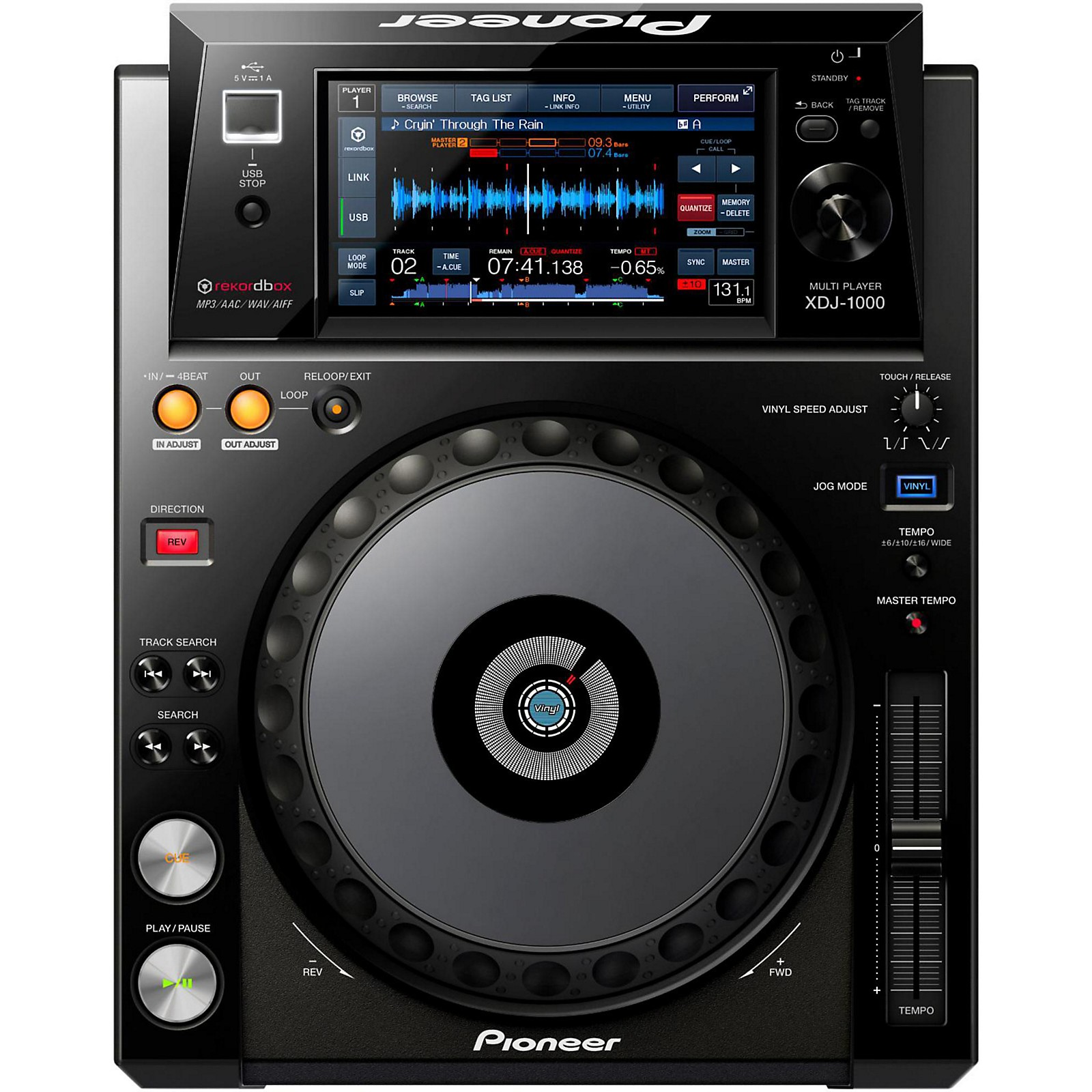 Pioneer XDJ-1000 Performance Multi Player