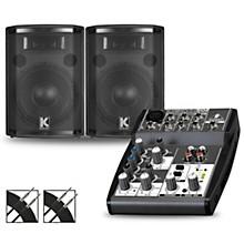 XENYX 502 Mixer and Kustom HiPAC Speakers 10