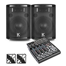 XENYX 802 Mixer and Kustom HiPAC Speakers 10