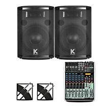 XENYX QX1204USB Mixer and Kustom HiPAC Speakers 10