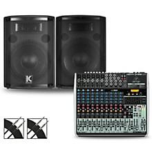 XENYX QX1832USB Mixer and Kustom HiPAC Speakers 10