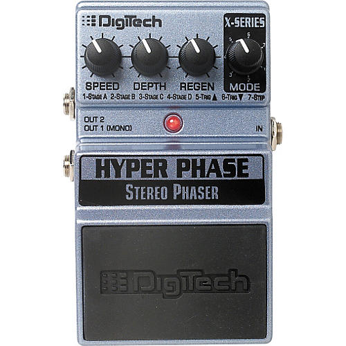 DigiTech XHP Hyper Phase Stereo Phaser Pedal