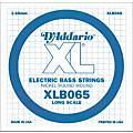 D'Addario XLB065 Extra Long Single Bass String thumbnail