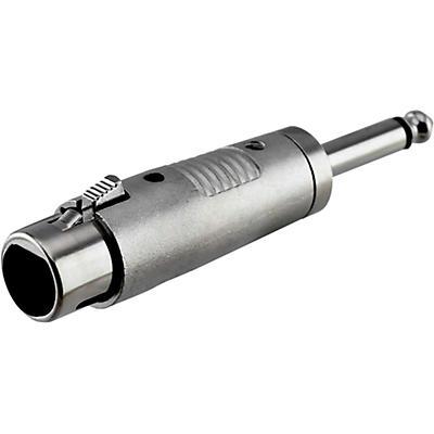 "Rapco Horizon XLR Female to 1/4"" Male Mono Adapter"