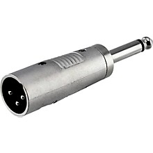 "Rapco Horizon XLR Male to 1/4"" Male Mono Adapter"