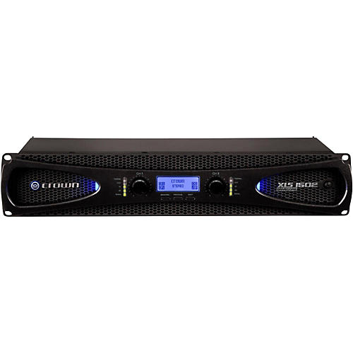 Crown XLS1502 2-Channel 525W Power Amplifier with Onboard DSP