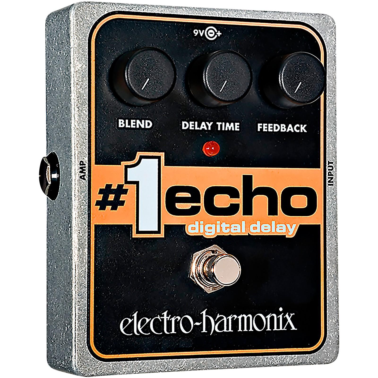 Electro-Harmonix XO #1 Echo Digital Delay Guitar Effects Pedal