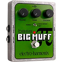 Open Box Electro-Harmonix XO Bass Big Muff PI Distortion Effects Pedal